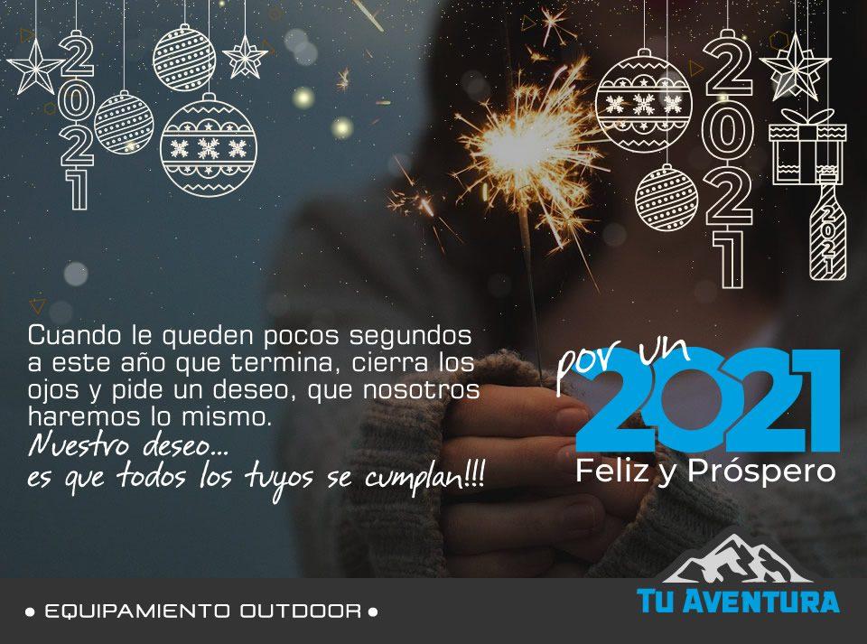 Feliz Año Nuevo Tu Aventura